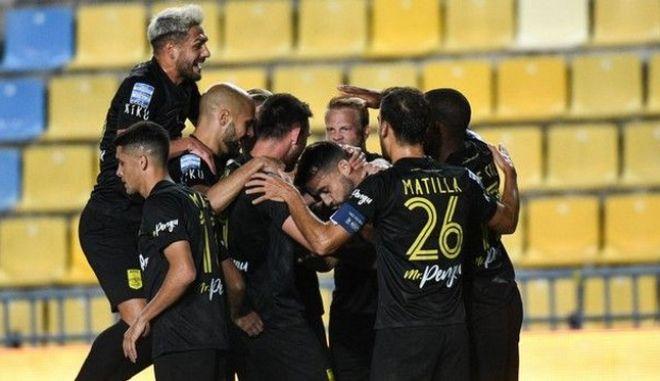 Παναιτωλικός - Άρης 0-1: Με Μπρούνο Γκάμα πάλι στην κορυφή