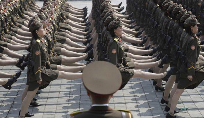 Βόρεια Κορέα σε ΗΠΑ: Σταματήστε τη στρατιωτική υστερία