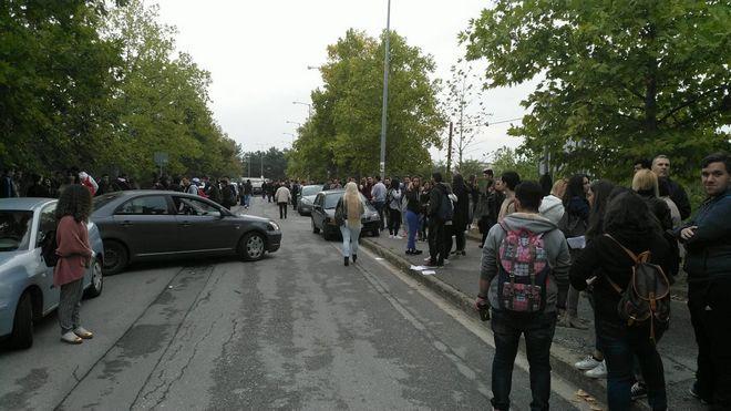 Κατάληψη στο ΤΕΙ Θεσσαλίας: Οι σπουδαστές διαμαρτύρονται για τη συγχώνευση με το ΑΕΙ