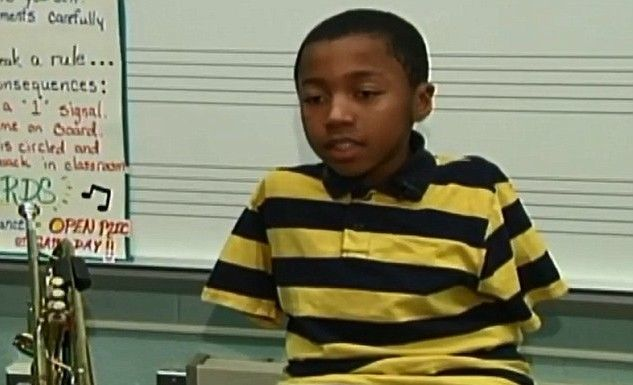 Jahmir Jersey: Ο 10χρονος τρομπετίστας χωρίς χέρια
