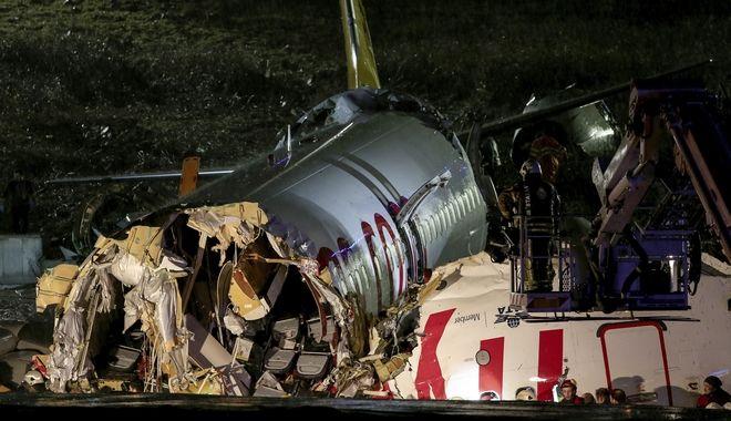 Αεροπορικό δυστύχημα στην Κωνσταντινούπολη
