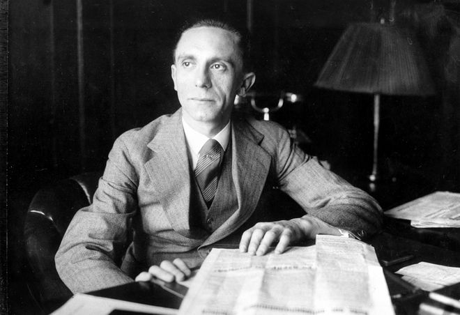 Ο Joseph Goebbels, Επίτροπος του Τρίτου Ράιχ για το Ραδιόφωνο και την Προπαγάνδα