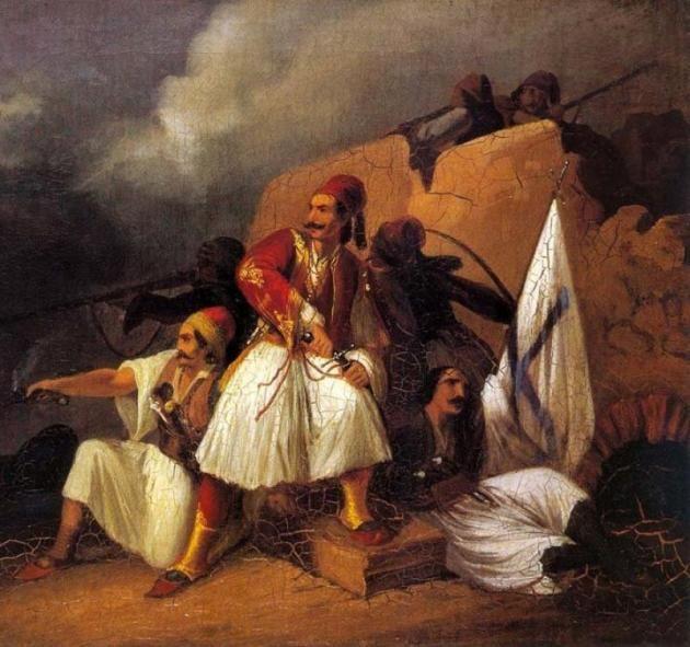 120 Έλληνες σταματούν 8.000 Τούρκους στο Χάνι της Γραβιάς