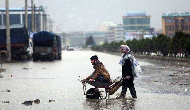 Πλημμύρα στο Αφγανιστάν (φωτογραφία αρχείου)
