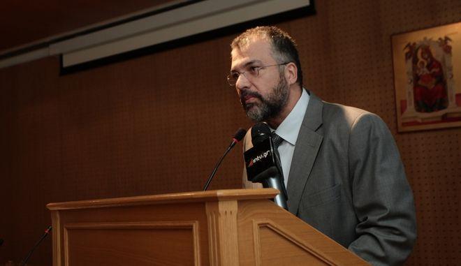 Ο Γενικός Γραμματέας Θρησκευμάτων Γιώργος Καλατζής