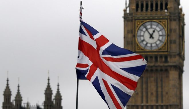 A union flag flies in front of Britain's Parliament buildings in London, Friday, March 10, 2017. British citizens should be able to choose to keep various benefits of EU membership including the freedom of movement after Brexit, the European Parliament's chief negotiator has said. (AP Photo/Kirsty Wigglesworth)