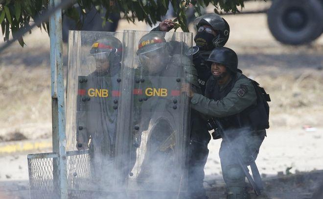 Άνδρες των δυνάμεων ασφαλείας