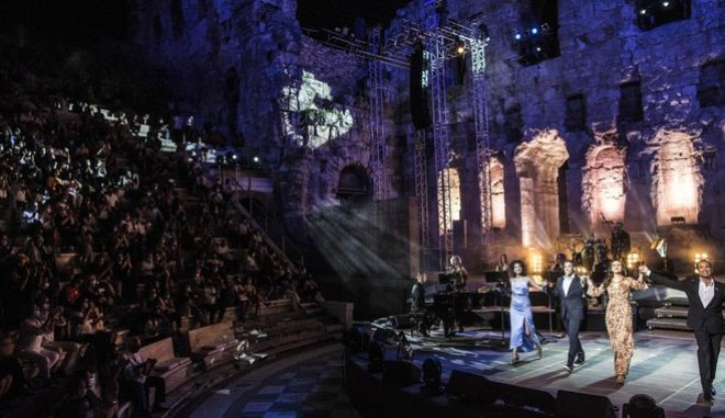 Συναυλία του Μάριου Φραγκούλη στο Ηρώδειο
