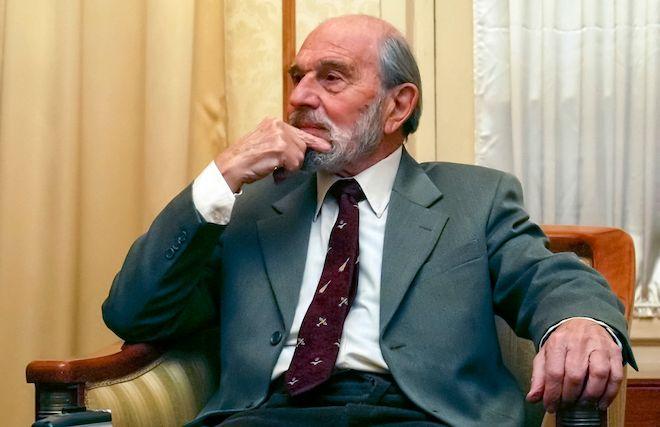 Ο Τζόρτζ Μπλέικ, πρώην Βρετανός κατάσκοπος και διπλός πράκτορας που υπηρετούσε τη Σοβιετική Ένωση, 95 ετών σε φωτογραφία αρχείου, 15 Νοεμβρίου 2006.