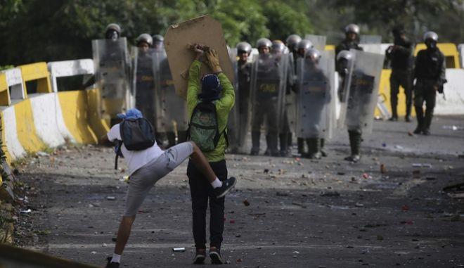 Βενεζουέλα: Νεκρός 16χρονος στη διάρκεια αντικυβερνητικής διαδήλωσης