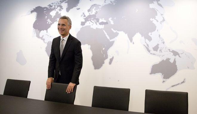 Ο γενικός γραμματέας του ΝΑΤΟ Γενς Στόλτενμπεργκ