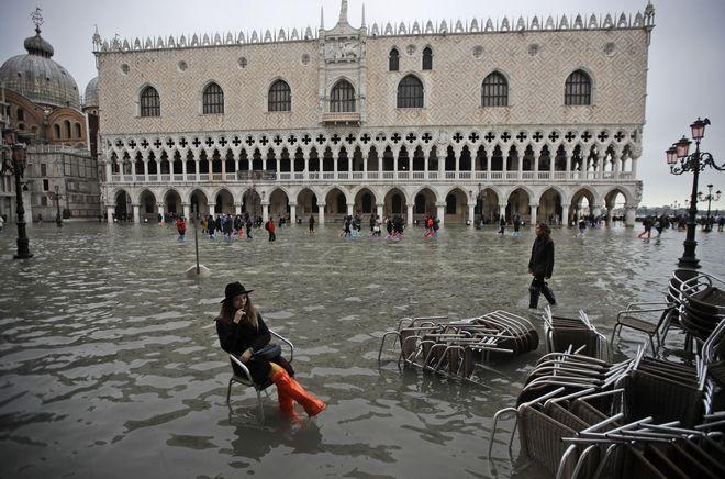 Η δεύτερη μεγαλύτερη πλημμύρα στην ιστορία της Βενετίας
