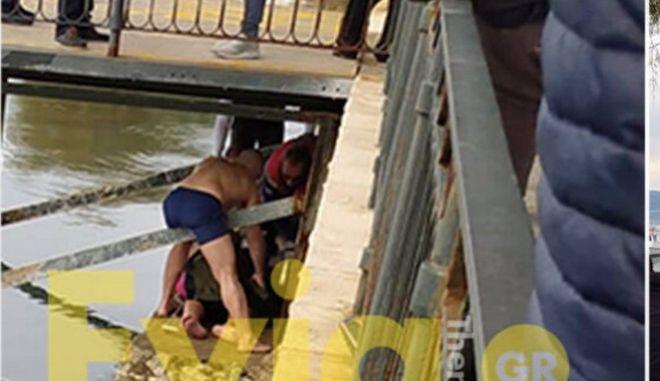 Βίντεο: Η στιγμή του τραυματισμού 24χρονου μετά τη ρίψη του σταυρού στην Εύβοια