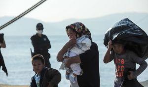 Φωτό αρχείου: Πρόσφυγες στη Σάμο