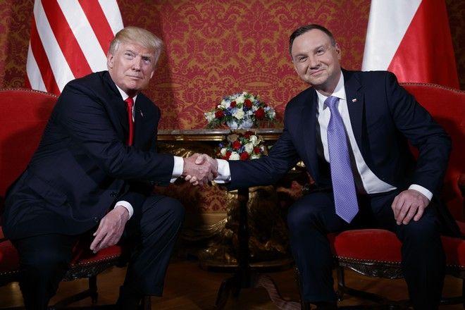 Συνάντηση Τραμπ-Ντούντα στην Πολωνία, Ιούλιος 2017