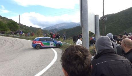 Εικόνα από το ατύχημα στην ανάβαση Πιτίτσας