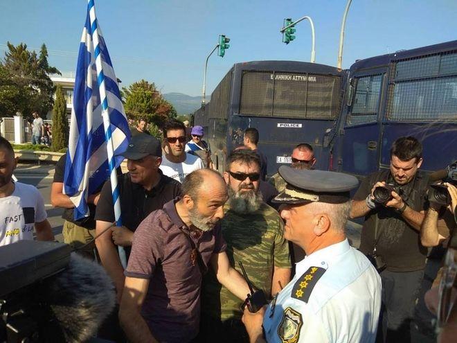 Θεσσαλονίκη: Συγκέντρωση και πορεία κατά της Συμφωνίας των Πρεσπών