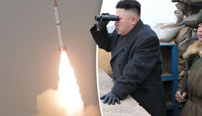 Αποτυχημένη εκτόξευση βαλλιστικού πυραύλου από τη Βόρεια Κορέα