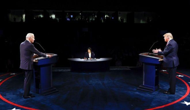 Μπάιντεν και Τραμπ στο δεύτερο debate 2 εβδομάδες πριν τις Αμερικανικές εκλογές