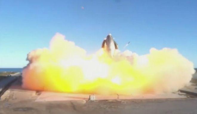SpaceX Starship: Εξερράγη κατά την προσγείωση μετά από δοκιμαστική πτήση