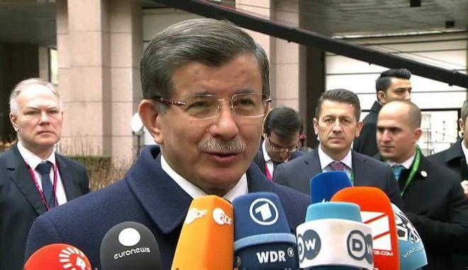 Νταβούτογλου: Η Τουρκία δεν είναι επαίτης χρημάτων