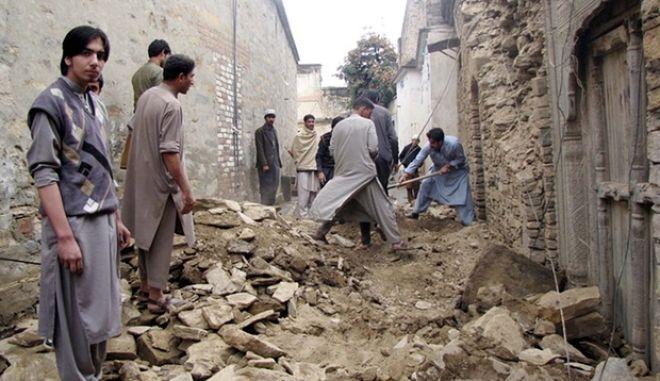 Σεισμός μεγέθους 6,2 βαθμών σημειώθηκε στο βόρειο Αφγανιστάν