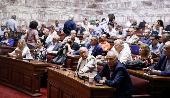 Από πρόσφατη συνεδρίαση της Κ.Ο. του ΣΥΡΙΖΑ