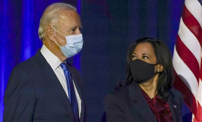 O Joe Biden και η Kamala Harris