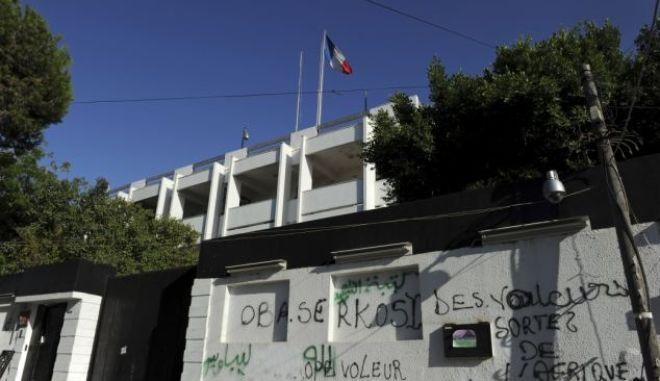 Έκρηξη έξω από τη γαλλική πρεσβεία στη Λιβύη