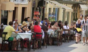 Τουρίστες στην Κέρκυρα