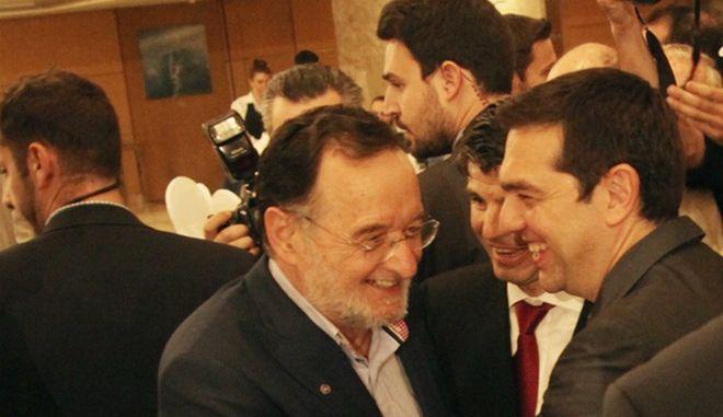 ΑΘΗΝΑ-Ομιλία του πρωθυπουργού Αλέξη Τσίπρα στο συνέδριο του Economist// ΑΛΕΞΗΣ ΤΣΙΠΡΑΣ-ΠΑΝΑΓΙΩΤΗΣ ΛΑΦΑΖΑΝΗΣ.  .(Eurokinissi-ΖΩΝΤΑΝΟΣ ΑΛΕΞΑΝΔΡΟΣ)