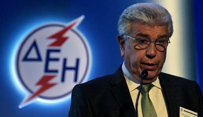 Φωτό αρχείου: Ο Πρόεδρος και Διευθύνων Σύμβουλος της Επιχείρησης Μανώλης Παναγιωτάκης