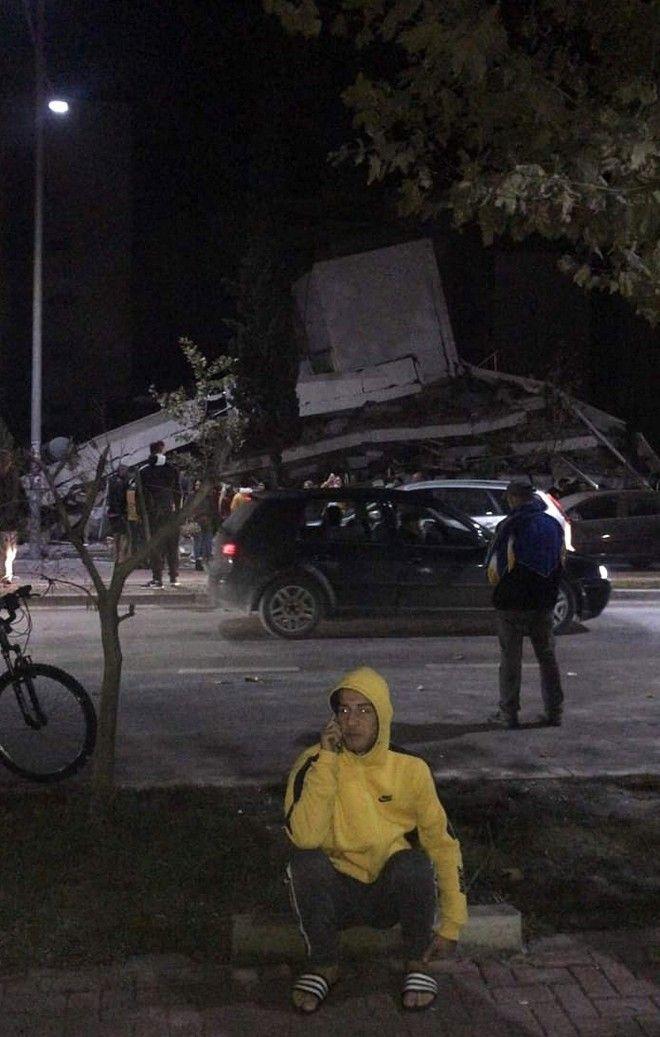 Ο σεισμός των 6,4 Ρίχτερ προκάλεσε μεγάλες υλικές ζημιές σε Τίρανα, Δυρράχιο, Φίερι και Λέζια