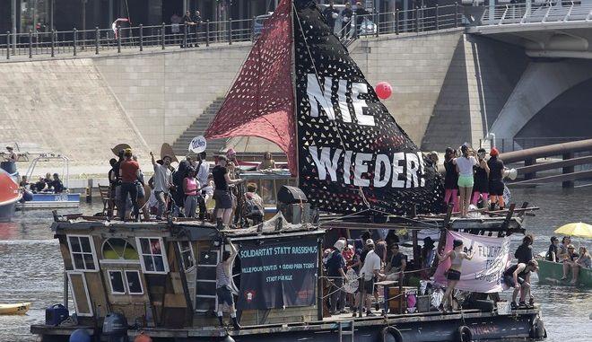 Ακτιβιστές στο Βερολίνο
