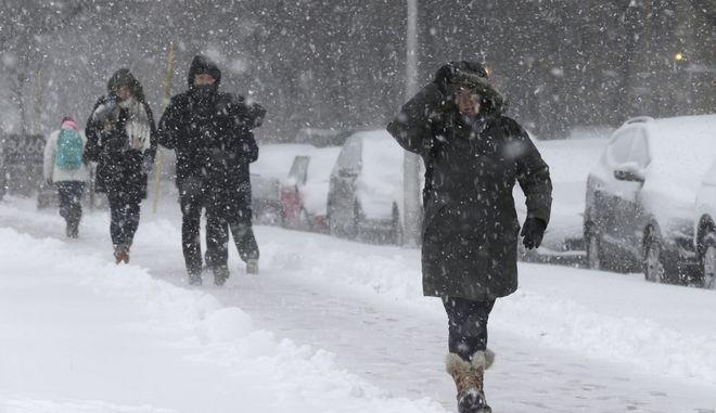 Χιονοθύελλα στις ΗΠΑ