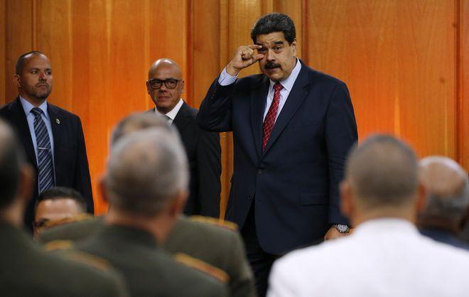 Ο πρόεδρος της Βενεζουέλας Νικολάς Μαδούρο ζητά από τους αρχηγούς των Ενόπλων Δυνάμεων της χώρας να έχουν τα μάτια τους ανοιχτά