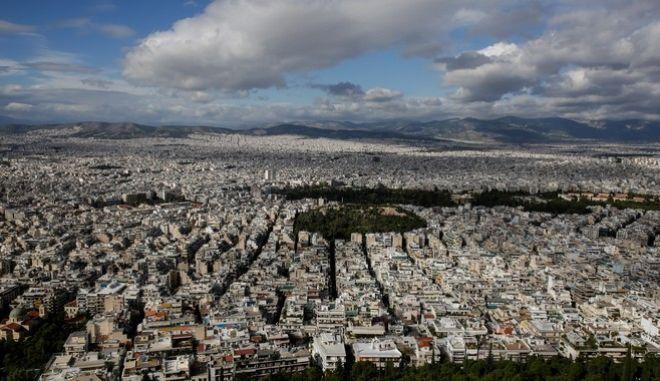 Φωτό αρχείου: Η Αθήνα θέα από τους ορίζοντες του Λυκαβηττού