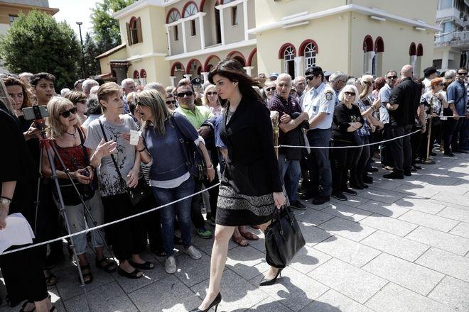 Η διευθύντρια του πρωθυπουργικού γραφείου στη Θεσσαλονίκη, Κατερίνα Νοτοπούλου