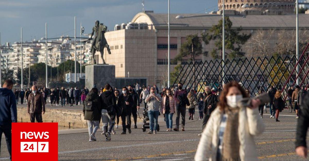 Θεσσαλονίκη: Τάση αποκλιμάκωσης του ιικού φορτίου – Κοινωνία