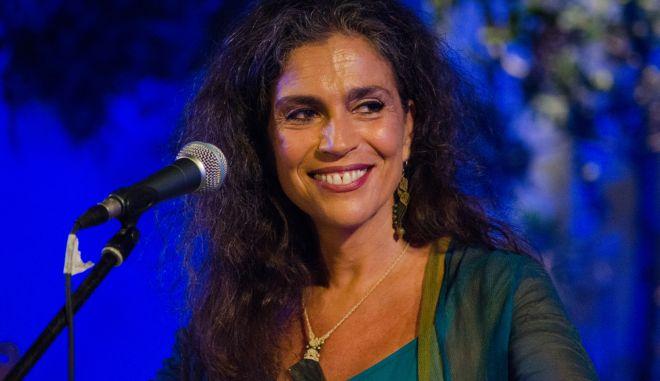 """Η Σαβίνα Γιαννάτου, μια από τις φωνές που θα ερμήνευαν τα τραγούδια της """"Λιλιπούπολης"""""""