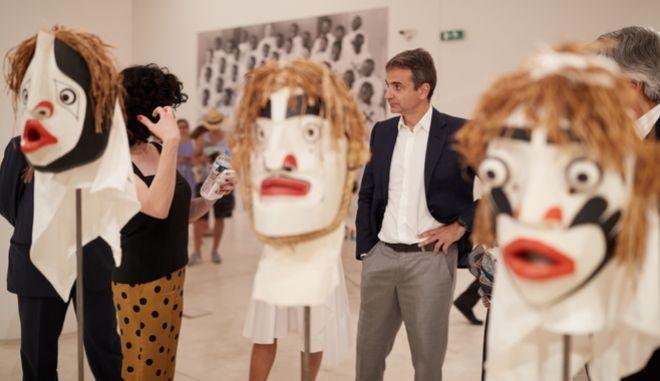 Μητσοτάκης: 'Η documenta 14 αναδεικνύει την Αθήνα σε φάρο πολιτισμού'