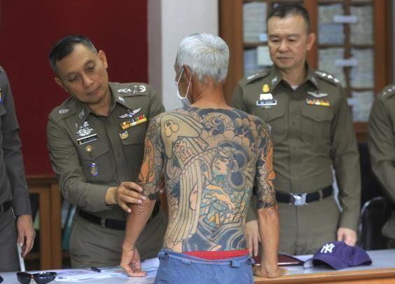 Η αστυνομία έπιασε Νονό της Γιακούζα από τα τατουάζ του
