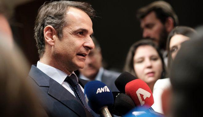 Μητσοτάκης: Η ελεύθερη δημοσιογραφία που πρέσβευε ο Μπακογιάννης είναι πυλώνας της Δημοκρατίας