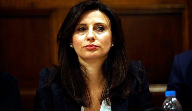 Η βουλευτής του ΣΥΡΙΖΑ Νίνα Κασιμάτη