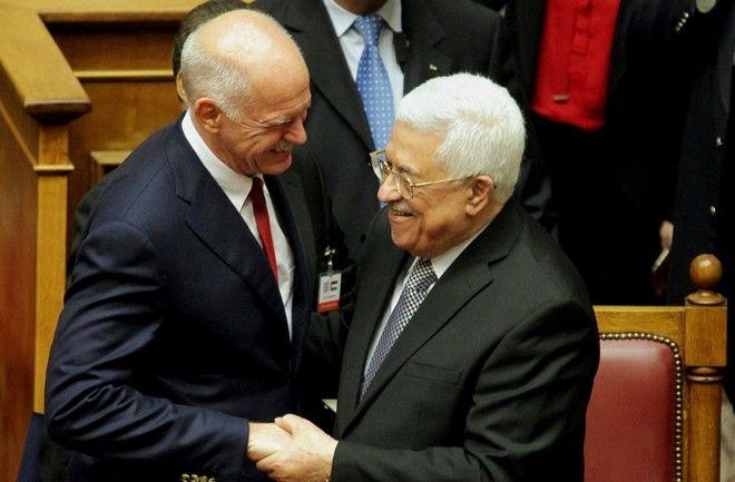 Στιγμιότυπο από την ολομέλεια του ελλληνικού κοινοβουλίου,όπου παρουσία του Παλαιστίνιου προέδρου Μαχμούτ Αμπάς,επικυρώθηκε ομόφωνα από όλες τις πτέρυγες της βουλής το ψήφισμα υπέρ της αναγνώρισης του Παλαιστινιακού Κράτους,Τρίτη 22 Δεκεμβρίου 2015 (EUROKINISSI/ΓΙΑΝΝΗΣ ΠΑΝΑΓΟΠΟΥΛΟΣ)
