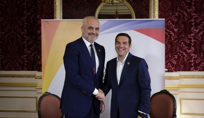 Αισιοδοξία για τις διαπραγματεύσεις Ελλάδας- Αλβανίας μετά τη συνάντηση Τσίπρα- Ράμα