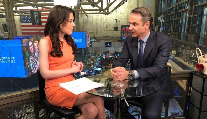 Συνέντευξη του Προέδρου της Νέας Δημοκρατίας Κυριάκου Μητσοτάκη στο CNN