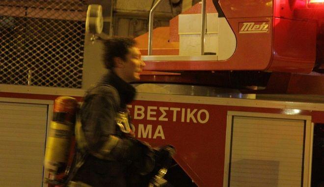 Όχημα της Πυροσβεστικής - Φωτό αρχείου