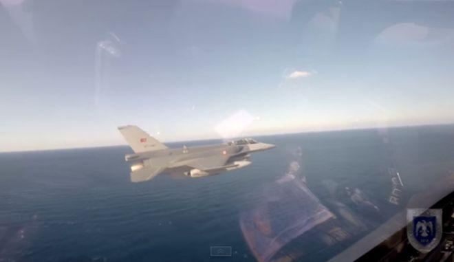 Αναχαίτιση τουρκικών αεροσκαφών πάνω από τη Χίο
