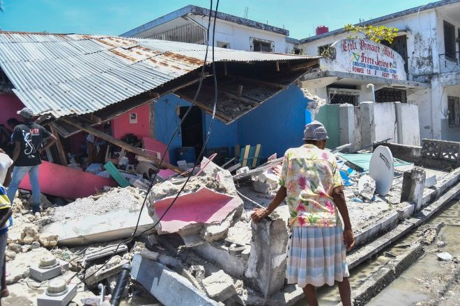 Φονικός σεισμός στην Αϊτή